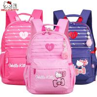HelloKitty凯蒂猫儿童小学生书包女童减负双肩休闲书包DL87020