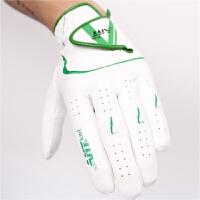 高尔夫手套 男 耐磨防滑透气 golf练习手套 超纤布手套