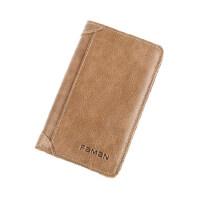 男士复古超薄卡包长款卡夹真皮商务多卡位银行卡套驾驶证皮套