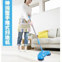 手动家用手推式扫地机 蓝色