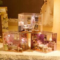女孩礼物浪漫惊喜实用送女友闺蜜小屋手工拼装房子模型