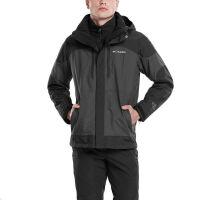 哥伦比亚(Columbia) 哥伦比亚秋冬WE1054新款男热能反射软壳内胆三合一冲锋衣男