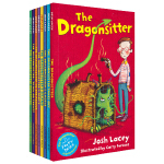 The Gragonsitter Collection 我成了龙保姆8册套装 儿童英文章节书小说 儿童想象力英语故事