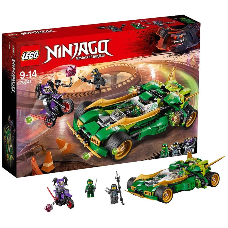 【当当自营】LEGO乐高劳埃德的高速连发夜行战车 70641材质安全妈妈放心 小灵感大快乐 爱拼才会赢