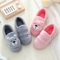 儿童棉鞋防滑保暖宝宝居家室内鞋包跟学步棉拖鞋冬季潮