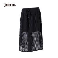 JOMA荷马女士针织七分裤舒适透气网孔运动裤满200减40