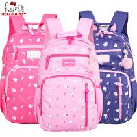HelloKitty凯蒂猫儿童中小学生书包女童减负双肩休闲书包DL87060