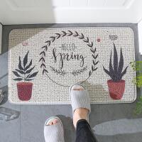家纺入户门口地垫丝圈地毯塑料蹭土门垫进门门厅垫子家用玄关脚垫