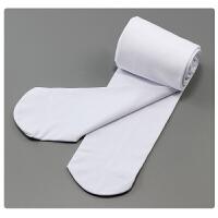 儿童加绒加厚保暖连裤袜女童白色舞蹈袜中大童装打底裤子   可礼品卡支付
