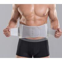 运动护腰男篮球健身护腰带绷带腰带腰部薄款保护绑带保暖收腹训练
