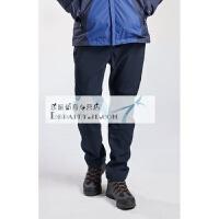 冲锋裤男软壳裤女冬季防风防水保暖户外加厚抓绒登山滑雪裤 X