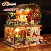 房子模型别墅创意生日礼物女diy小屋芮娅的时光手工制作拼装生