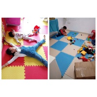 【40片装】泡沫地垫拼图地毯卧室铺地板垫子儿童爬行垫拼接爬爬垫J