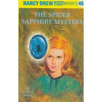 Nancy Drew #45 The Spider Sapphire Mystery 南茜・朱尔:蜘蛛琥珀之谜 ISB