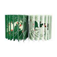 360°BOOK 白雪公主Snow White 日文原版艺术创意立体图书 360度书