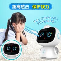 儿童智能早教机器人高科技语音对话金小帅男孩子跳舞教育陪伴玩具 可爱粉 优雅蓝 wifi升级版16G