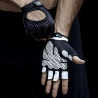 健身手套男透气女运动手套防滑护腕哑铃器械训练半指薄款耐磨