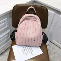 上新小包包女包新款2019韩版时尚双肩包女休闲旅行背包中学生书包