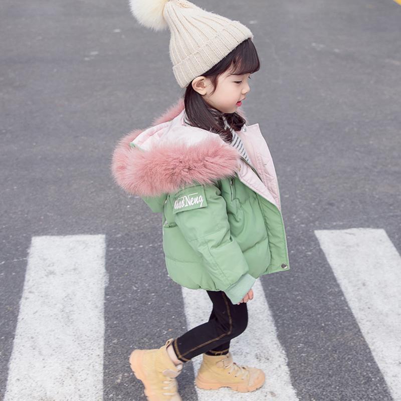女宝宝棉衣外套冬装洋气棉袄羽绒