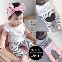 婴童装1岁6个月女宝宝打底裤夏装婴儿裤子男童夏季