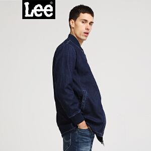 Lee男款 18新品牛仔蓝长袖夹克L301763JL7RD
