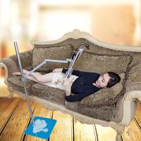 云之爵带轮带书篮懒人落地沙发床上多功能阅读架 读书架 看书架 平板架 躺着看书