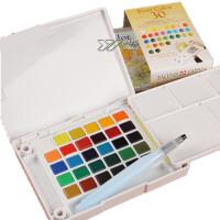 樱花 泰伦斯30色24色18色12色透明固体水彩套装写生水彩颜料,写生绘画漫画手绘 产品特点:产品设计人性化。颜色纯正,漫画也适用。使用非常方便哦