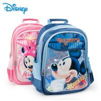 正品迪士尼新款米奇书包 女童小学生书包男童1-4年级儿童双肩背包