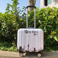 卡通迷你登机箱18寸小行行李箱儿童万向轮拉杆箱女迷你旅行密码箱