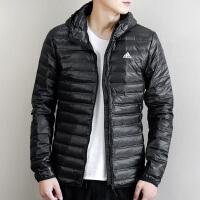 Adidas阿迪达斯 男子 运动羽绒服 连帽保暖羽绒外套 BQ7782