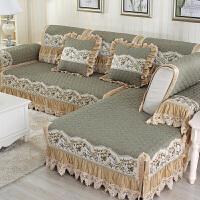 沙发垫四季通用欧式沙发套全盖沙发巾靠背巾皮沙发罩全包套