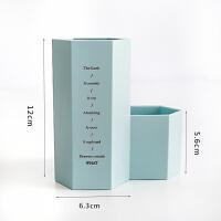 简约多功能笔筒创意时尚 韩国小清新学生办公桌面收纳盒