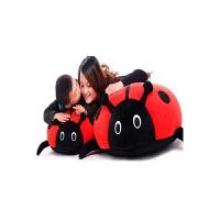 大号公仔靠垫可爱抱枕创意礼物瓢虫抱枕毛绒玩具
