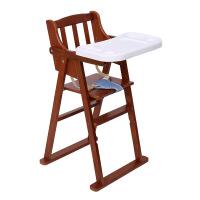 儿童实木折叠餐椅免安装宝宝椅酒店餐椅bb凳支持一件货可贴牌