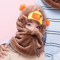20180416094627338帽子女冬季可爱韩版潮休闲百搭护脖帽子冬天保暖口罩护耳围脖帽