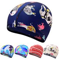 时尚新款泳帽温泉男女儿童成人长发游泳帽防水舒适专业游泳帽子不勒头
