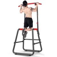 单杠 家用 加强型 引体向上器单杠家用室内多功能单双杠体育用品运动健身器材HW 【单双杠豪华款-白】功能齐全 升级底座