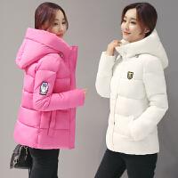 棉衣女短款2017冬季新款修身学生小棉袄加厚保暖羽绒棒球外套