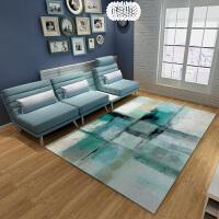 家纺时尚简约北欧式现代宜家地毯客厅沙发茶几地毯卧室满铺长方形家用 TB-3 1.4*2.0