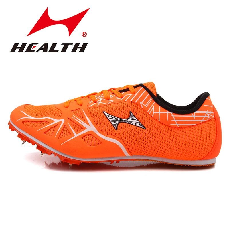 HEALTH 海尔斯166短跑钉鞋男比赛考试运动跑步跳高三级跳远钉鞋女田径鞋