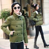 棉衣女短款冬季新品女装韩版显瘦学生加厚保暖棉袄外套潮