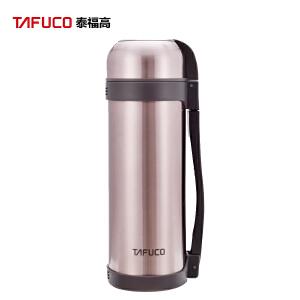 泰福高(TAFUCO)不锈钢大容量保温壶水壶暖壶旅行壶 户外运动家用户外运动车用保温瓶1.8L