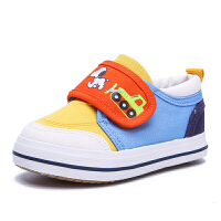 史努比童鞋男童宝宝帆布鞋春季新款低帮板鞋魔术贴儿童休闲鞋