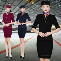 【1件7折 2件6折】短袖小西服面试珠宝销售空姐制服职业装女套装