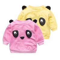 童装秋装儿童装卫衣男童卫衣0-3个月新款女宝宝潮款婴儿衣服