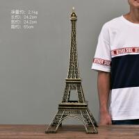 20180624162601701巴黎埃菲尔铁塔摆件创意摆设模型家居房间客厅装饰生日礼物工艺品