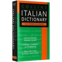 英文版 Collins Italian Dictionary柯林斯意大利语英语词典意英双语字典 英文原版 正版进口书籍