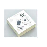包邮 韩国创意方砖便签本简约无印空白可撕学生记事本随身厚日记本子一本装