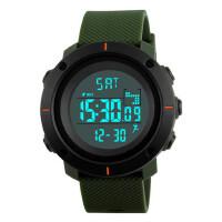 男士大表盘防水电子手表个性多功能户外运动计步男学生腕表