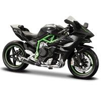 1:18川崎杜卡迪街车跑车摩托车模型合金摆件金属礼物男生